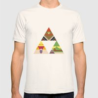 The Legend Of Zelda: Leg… Mens Fitted Tee Natural SMALL