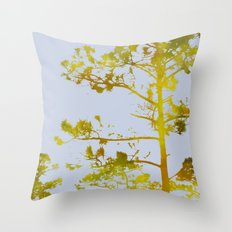 Dreaming Of Japan: Gold … Throw Pillow