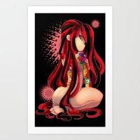 Oriental Namakashii Art Print