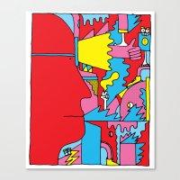Study no. 5 Canvas Print