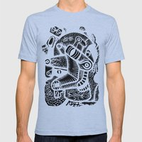 Dali #1 - The Print Mens Fitted Tee Athletic Blue SMALL