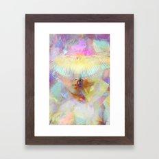 The look of the innocence Framed Art Print