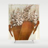 Gladiolous Shower Curtain