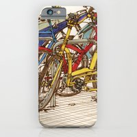 iPhone & iPod Case featuring Bike Mess by Miguel Herranz