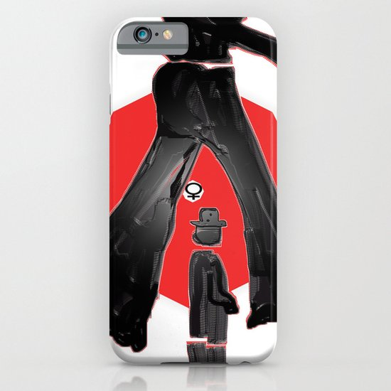 she wears the pants iPhone & iPod Case