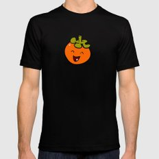 Persimmon SMALL Black Mens Fitted Tee