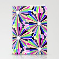 MULTI COLOURED WHEELS Stationery Cards