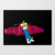 Futuristic. Canvas Print