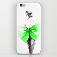 Elegance In Green iPhone & iPod Skin