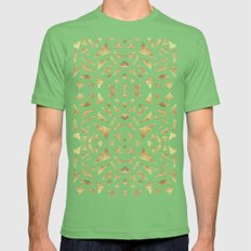 Ari's Gold Mens Fitted Tee Grass SMALL