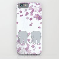 elephants iPhone & iPod Cases featuring Elephants by Ehud Neuhaus