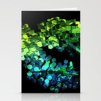 Cellular Automata Stationery Cards