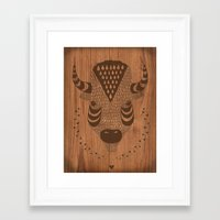 Buffalo No.2 Framed Art Print