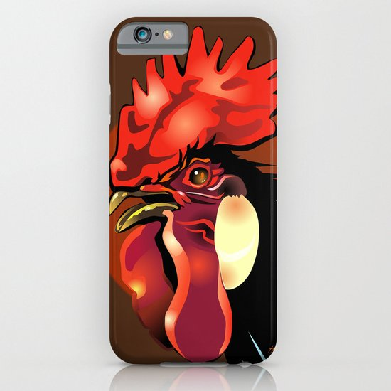Andalusian Rooster 1 iPhone & iPod Case