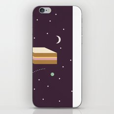 Ham & Cheese in Space iPhone & iPod Skin