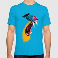 Mandril Mens Fitted Tee Teal SMALL