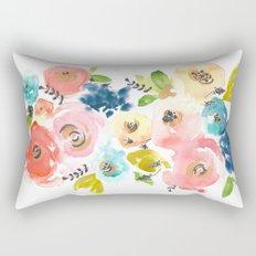 Floral POP #2 Rectangular Pillow