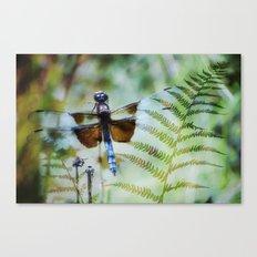 Dragonfly :: Winged Fern Canvas Print