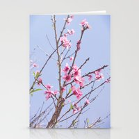Portuguese Blossoms Stationery Cards
