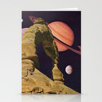 Space Rock II Stationery Cards