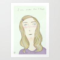 Small Art Print