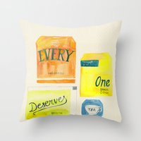 Lizzie Bennet #2 Throw Pillow