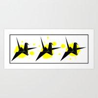 Fly Or Die 1.3 Art Print
