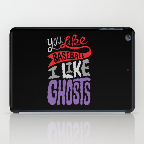 Baseball, Ghosts iPad Case