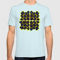 Animal Cells Mens Fitted Tee Light Blue SMALL