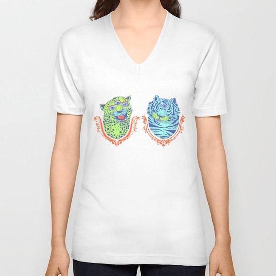 Stephan and Steve V-neck T-shirt