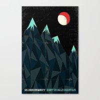 Night On Bald Mountain -… Canvas Print
