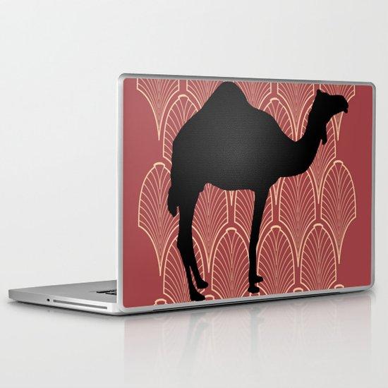 Art deco camel Laptop & iPad Skin