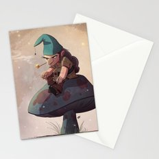 Gnome Away From Home Stationery Cards