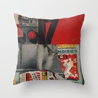 Recover Throw Pillow