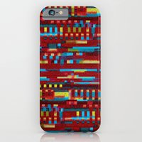Manly cubes of color iPhone 6 Slim Case