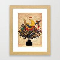 Piri Reis Framed Art Print