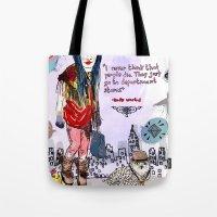 Department Store Saga Tote Bag