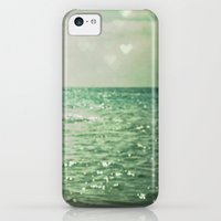 iPhone 5c Cases featuring Sea of Happiness by Olivia Joy StClaire
