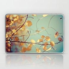 golden aspen Laptop & iPad Skin