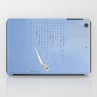 Dodging Raindrops iPad Case