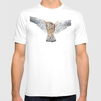 BUZZARD Mens Fitted Tee White SMALL