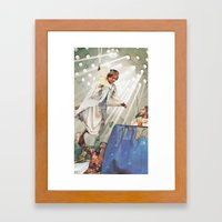 I Want To See You Come B… Framed Art Print