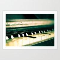 Piano 1 Art Print