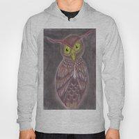 Stylized Owl Hoody