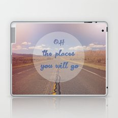 The Places You Will Go Laptop & iPad Skin