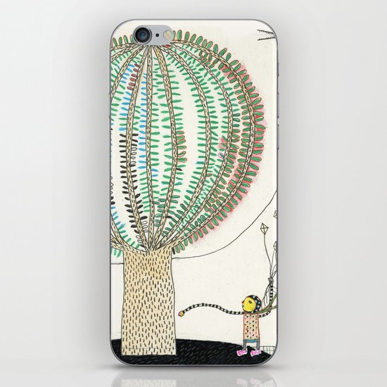 Knock Knock Knock-Tree iPhone & iPod Skin