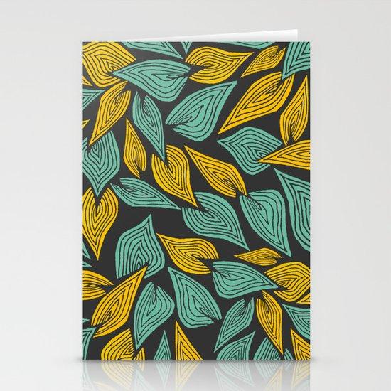 Autumn Wind Stationery Card