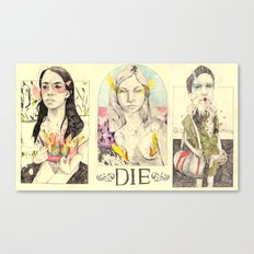 3figuresofdie Canvas Print