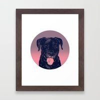 Roscoe Framed Art Print