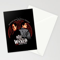 No Rest for the Wicked Stationery Cards